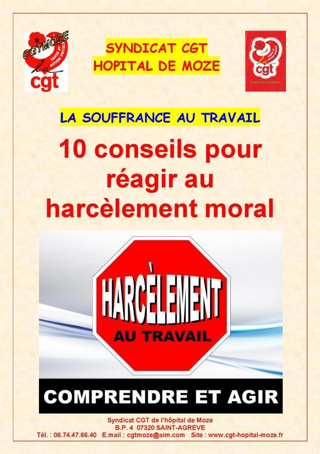 10 conseils pour reagir au harcelement moral page 2
