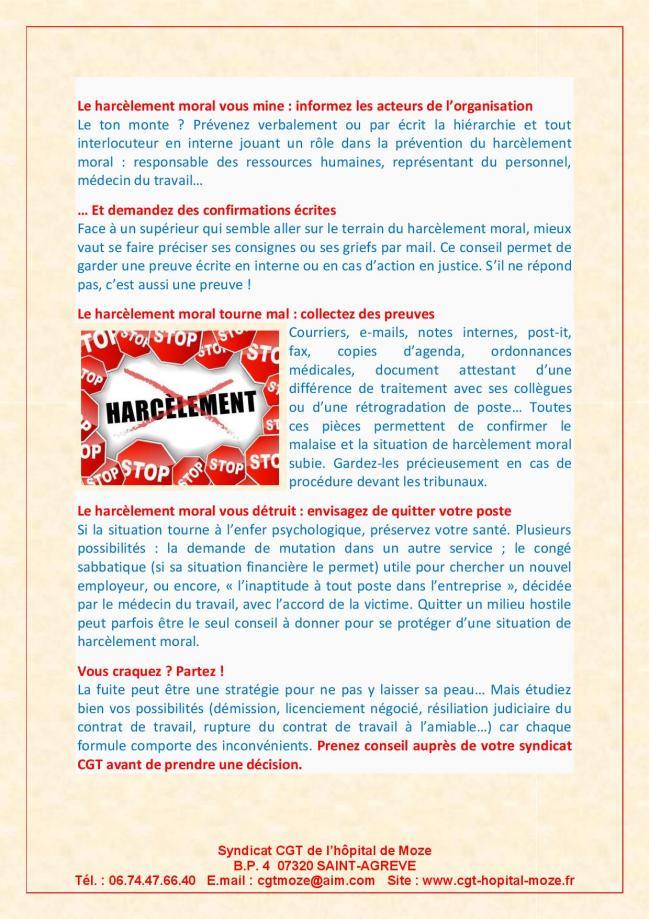 10 conseils pour reagir au harcelement moral page 4
