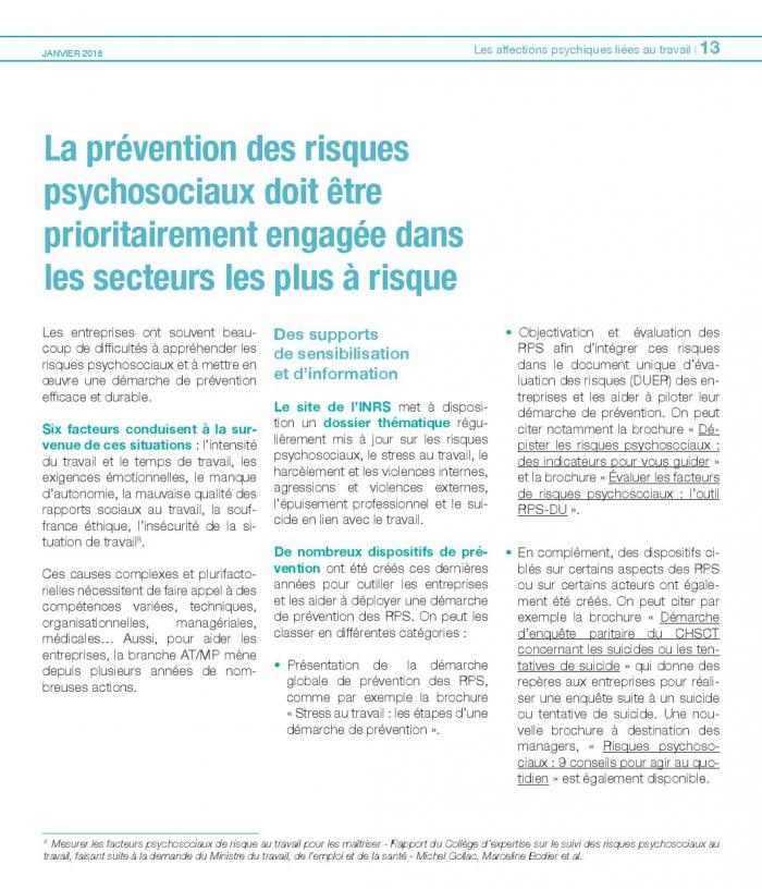 Enjeux et actions 2018 affections psychiques travail page 013