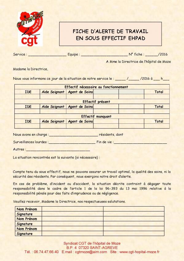 Fiche alerte sous effectif ehpad page 006