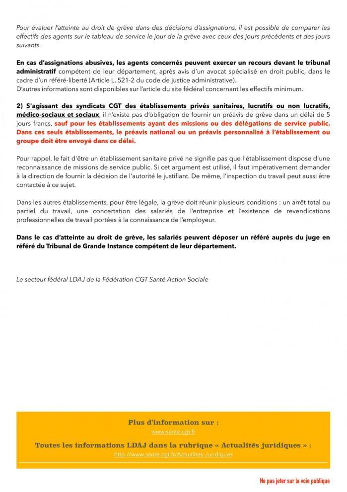 Flash information juridique ldaj droit de greve 002 2