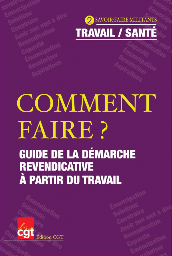 Guide demarche revendicative page