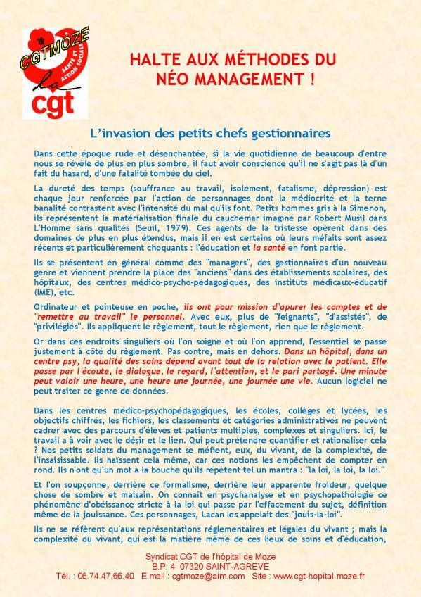 Halte aux methodes du neomanagement page 2