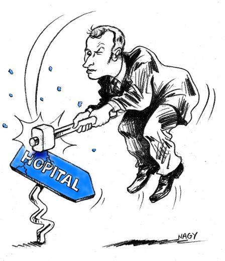 Macron casse de l h pital 72