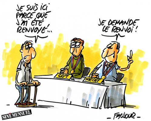 Medef cgt faujour