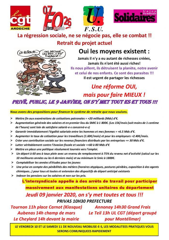 Modele tract departemental pour le 9 janvier page 001