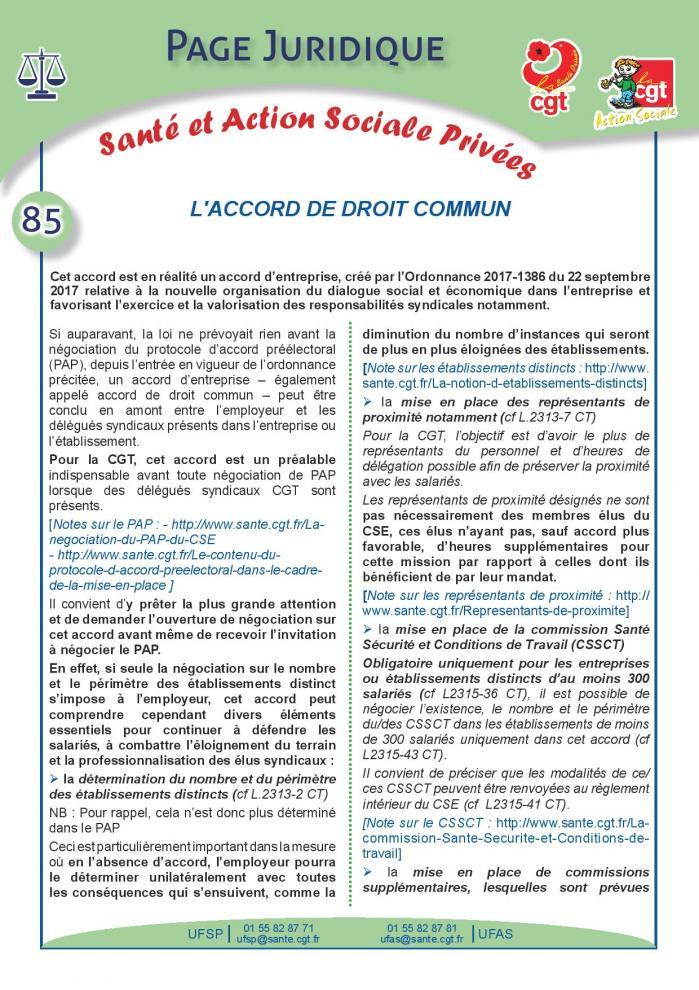 Page juridique sante et action sociale privees n 85 page 001