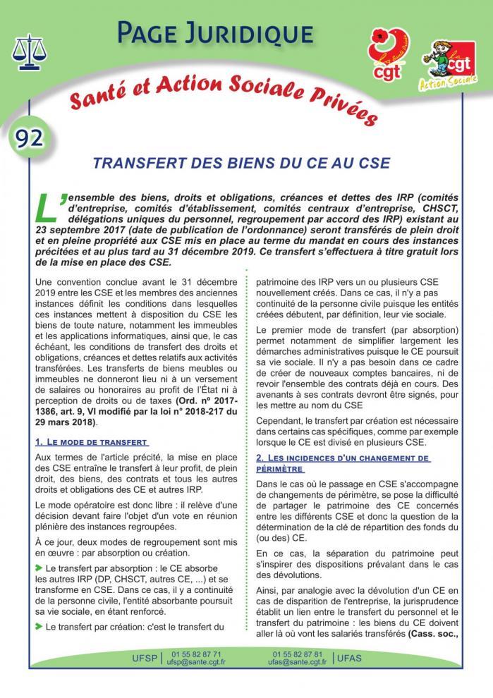 Page juridique sante et action sociale privees no92 1