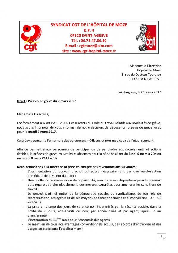 Preavis de greve 7 mars 2017 page 001