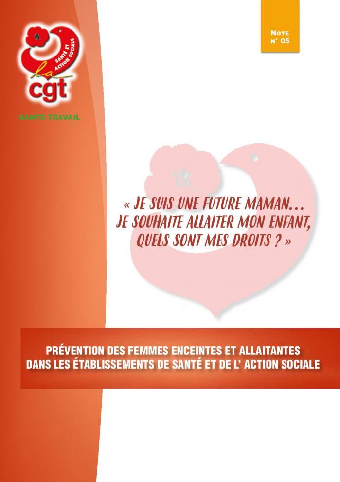 Sante au travail prevention femmes enceintes 012019 nv 2 page 001