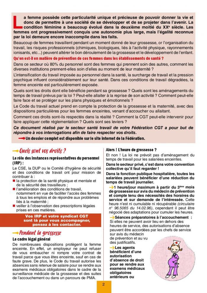 Sante au travail prevention femmes enceintes 012019 nv 2 page 002