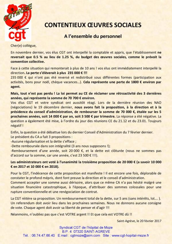Tract contentieux oeuvres sociales page 001