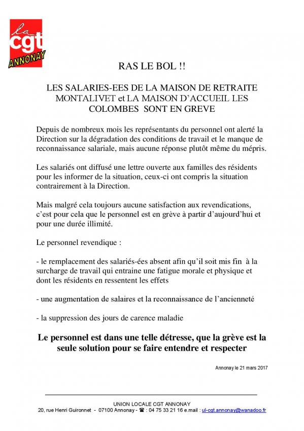 Tract greve montalivet