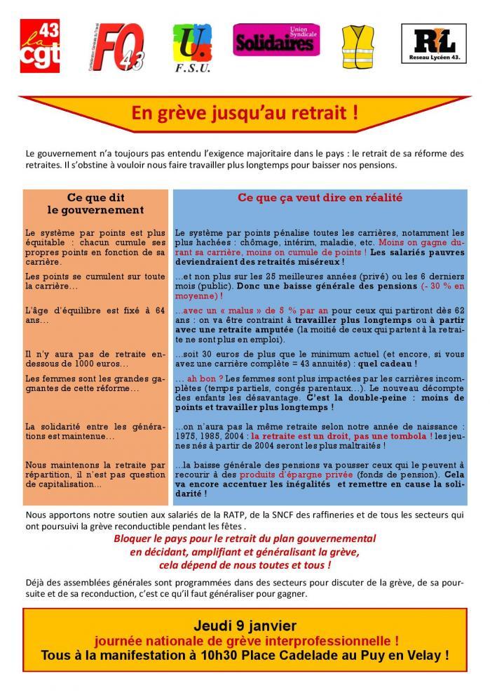 Tract intersyndical 43 9 janv 2020 page 001