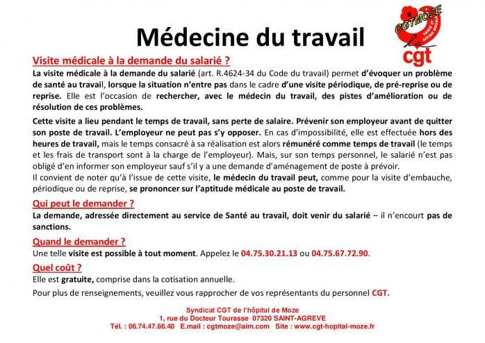 Visite medicale a la demande du salarie page 001 1