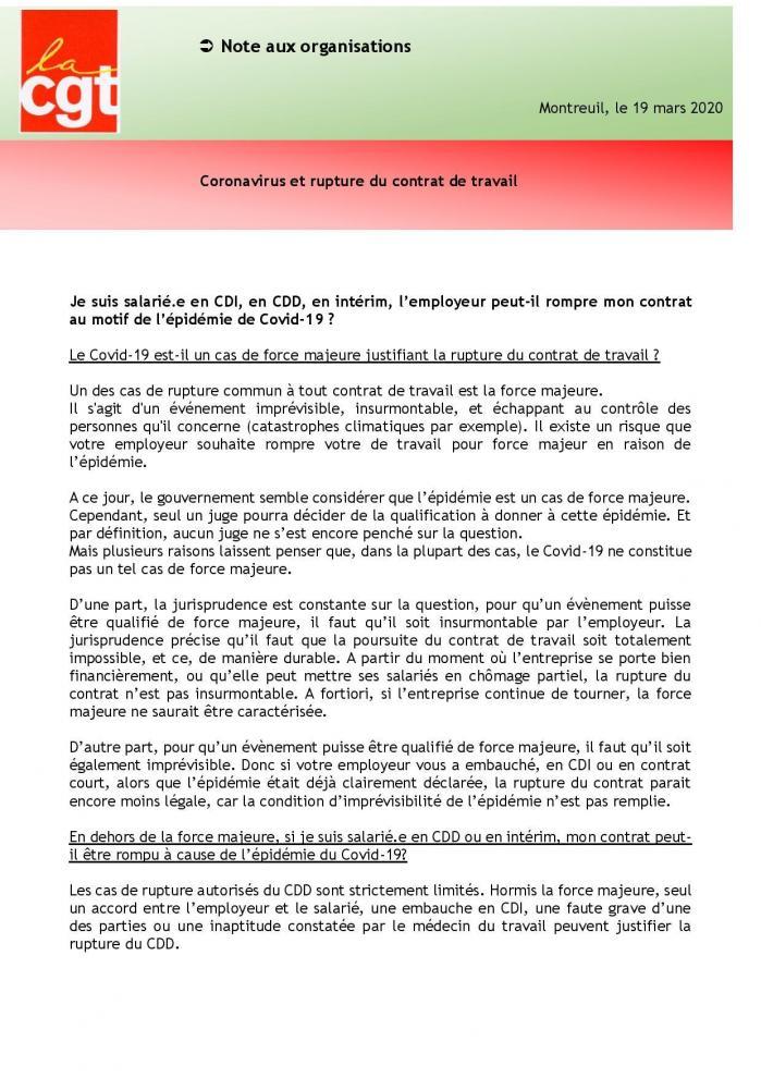19 03 20 fiche dlaj coronavirus et rupture du contrat de travail page 001