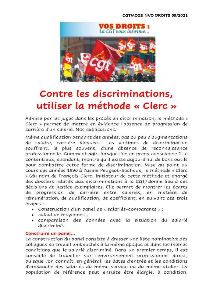 Contre les discriminations page 2