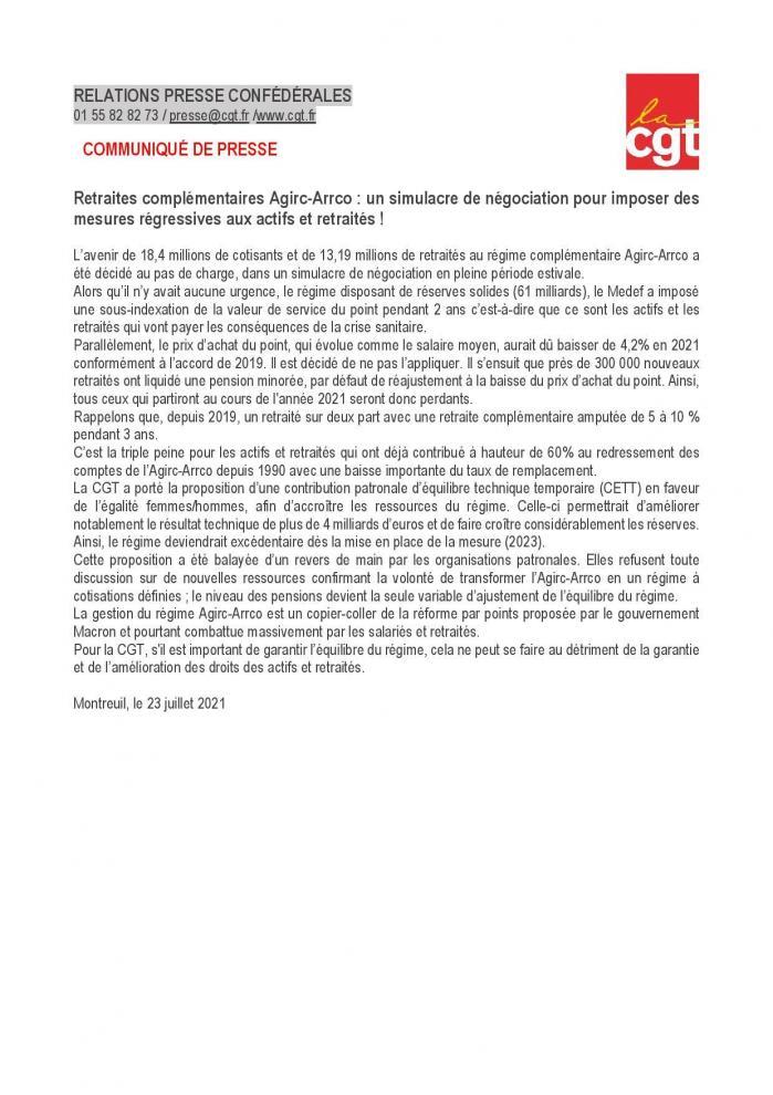 Cp cgt complementaire retraite simulacre de negociation page 001