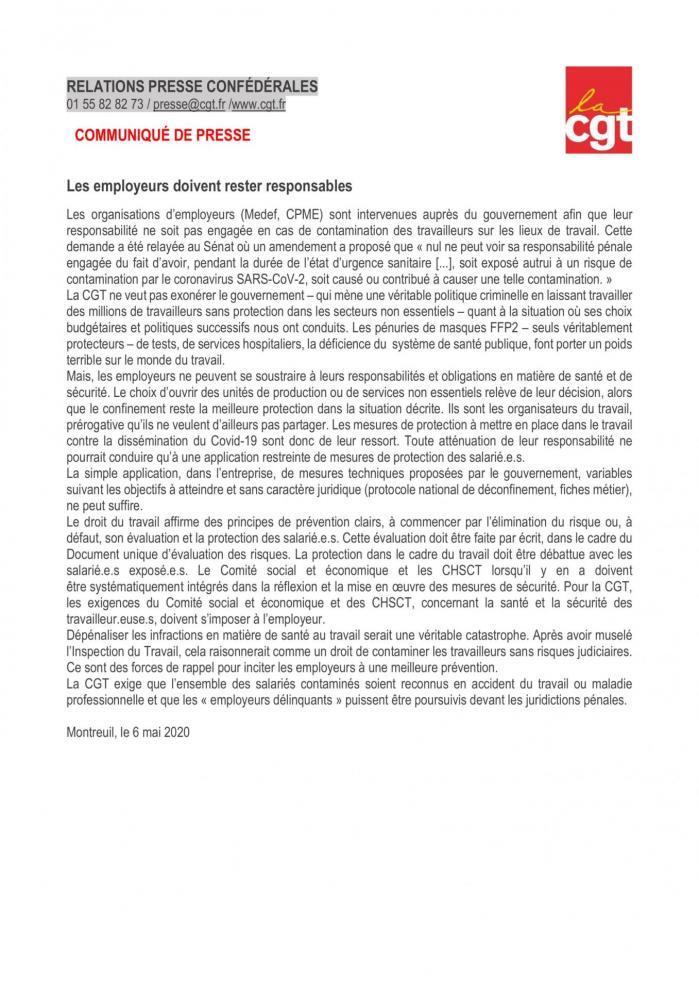 Cp cgt employeurs responsables 1