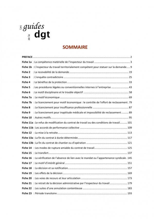 Guide decisions administratives en matiere de licenciement des salaries proteges v2019 09 20 003