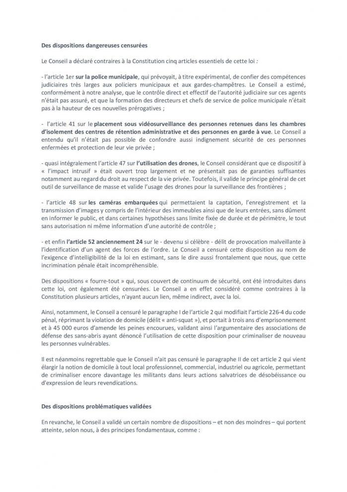 Stoploise cuglobale censure conseil constitutionnel 20 mai 2021 page 002