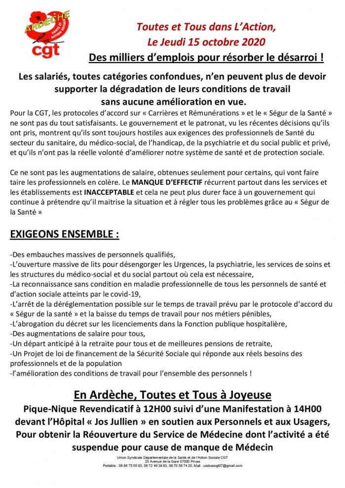 Tract du 15 octobre 2020 page 001