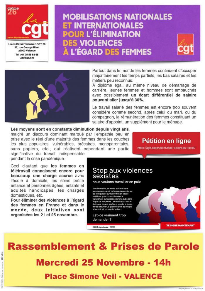 Tract mobilisation nationale lutte contre violences faites aux femmes page 001