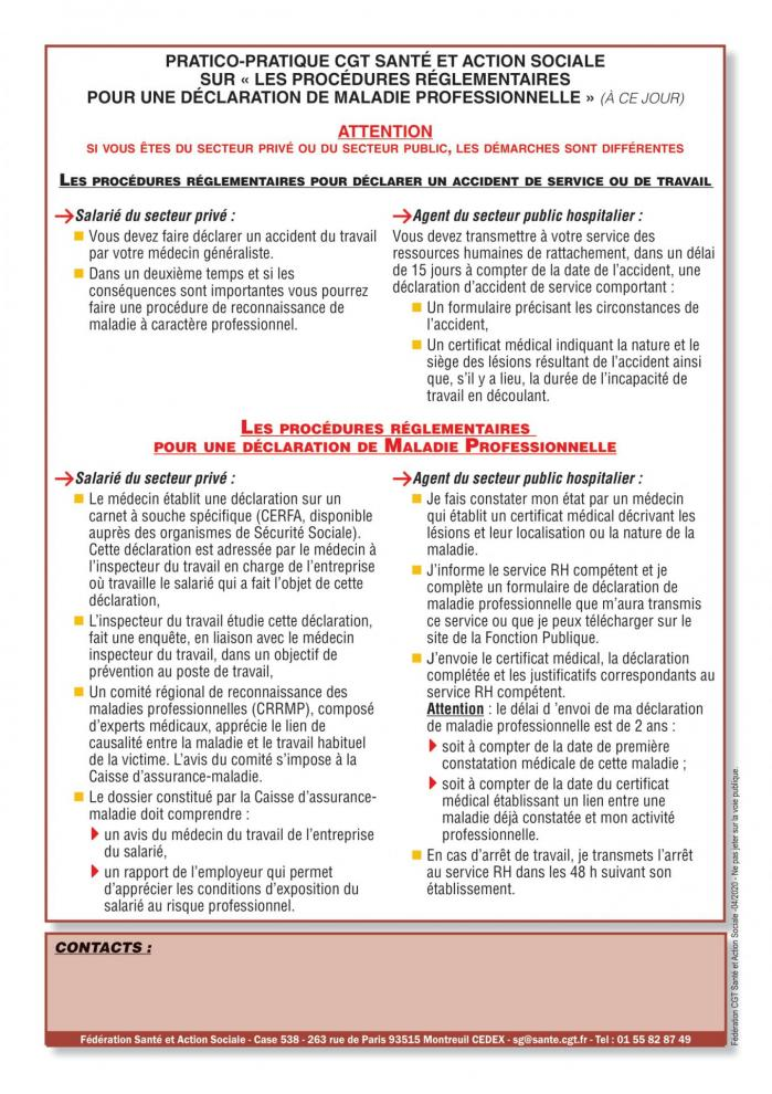 Tract sante au travail exposition covid19 04 2020 2