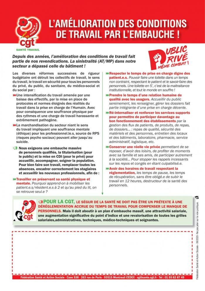Tract sante travail embauche 020620 1