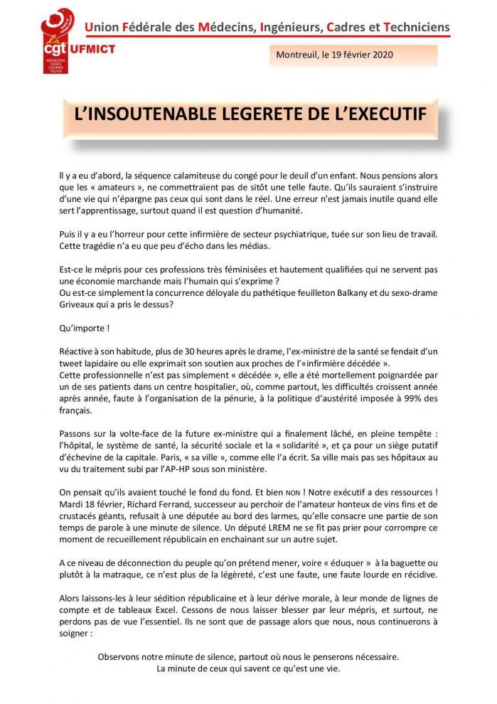 Tract ufmict en reponse a l assemblee nationale page 001