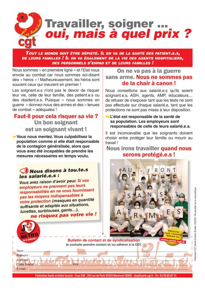 Tract ufsp sans armes avec photo 300320 1